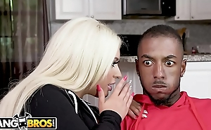 BANGBROS - Brandi Bae Loves Her Father&rsquo_s Hung Black Friends